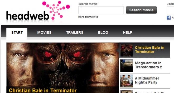 Lei og se film rett i nettleserer, eller kjøp film for å se på din TV. Med Headweb er dette mulig. (Ill. Headweb)
