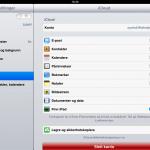 Treg iPad etter oppdatering til iOS 5?