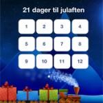 Vi deler ut gratiskoder til norsk julekalender-app