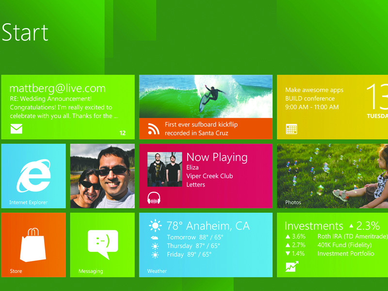 Windows 8 stor