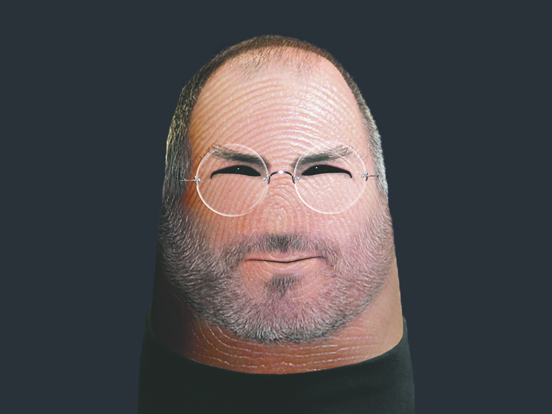 steve jobs front