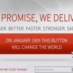 – 20. januar vil denne knappen forandre verden
