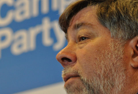 Apple-medgründer Steve Wozniak mener Microsoft har vært for slappe under Steve Ballmers ledelse. Foto: Flickr / campuspartycolombia