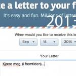 Skriv e-post til deg selv nå – få den i fremtiden