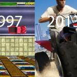 Grand Theft Auto gjennom 16 år