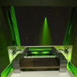 Oppnådde ekstreme hastigheter med laser i verdensrommet