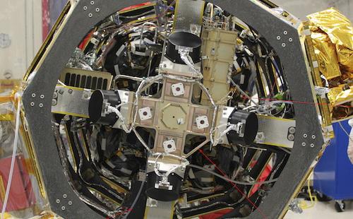 Dett er laseren som tidligere i år ble lastet opp på romsonden LADEE. Foto: NASA