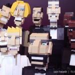 Gjenskapte Oscar-selfien med Lego-klosser