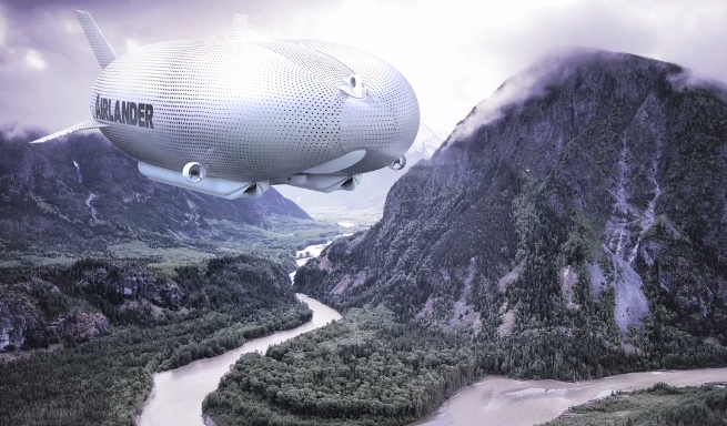 Foto: Skjermdump /  Airlander by Hybrid Air Vehicles / Vimeo