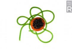 En noe uvanlig caprese med kaviar...