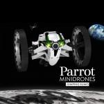 Jumping Sumo fra Parrot Minidrones utfører akrobatikk på kommando