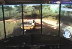 Bilspill på fem skjermer