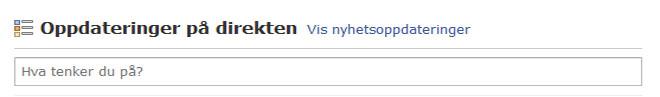 En ny knapp dukket plutselig opp på Facebook på fredag. (ill. Bitnett Teknologia)