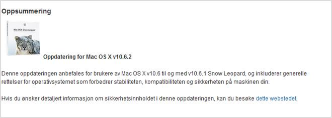 Ny oppdatering fra Apple er nå klar for nedlasting. (Ill. Apple)