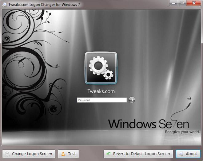 Med dette programmet er det en smal sak å ende påloggingsskjermen i Windows 7. (Ill. Teknologia)