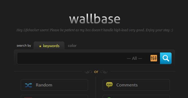 Kan det bli enklere å finne skrivebordsbakgrunner? Wallbase er nyttig i hvert fall. (Ill. Teknologia.no)