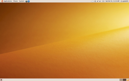 Slk ser Ubuntu ut etter installasjonen. Litt kjedelig? Vel, du så hvordan du kan gjøre den langt mer spennende.