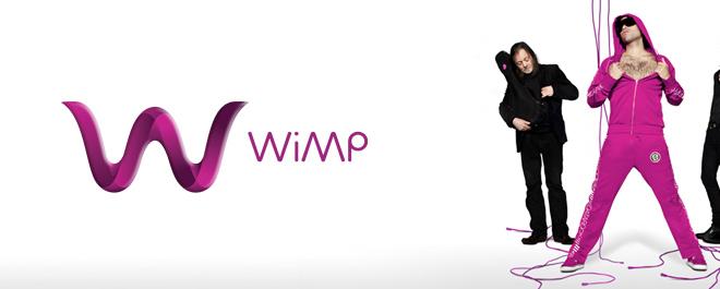 WiMp får kritikk for navnevalget i internasjonale medier. (Foto: Wimp.no)