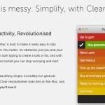 Clear er klar for Mac