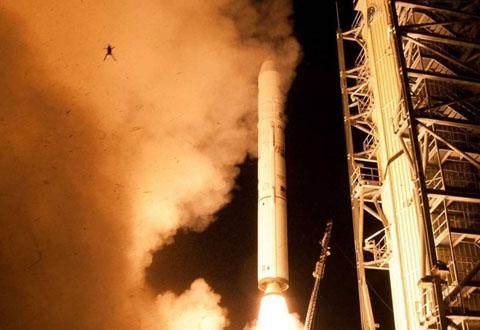 Foto: Chris Perry / NASA/Wallops Flight Facility