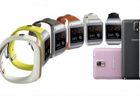 Slik ser klokka ut. Foto: Samsung