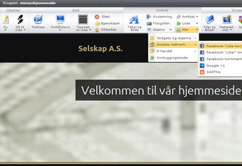 Nettsidebyggeren Webnode satser nå i Norge. Foto: Webnode