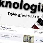 Slik følger du Teknologia på Facebook