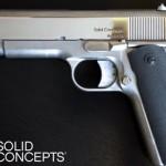 Dette er den første 3D-printede pistolen av metall