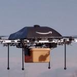 Amazon vil levere pakkene dine med droner