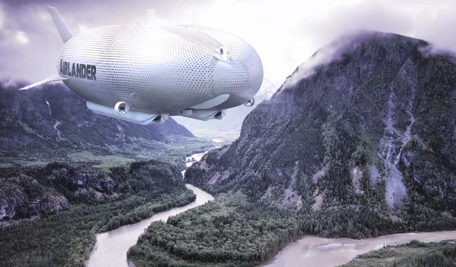 Foto: Skjermdump /  Airlander by Hybrid Air Vehicles / Vimeo
