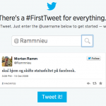 Gjenopplev din første flaue tweet