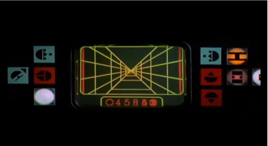 Star Wars X-Wing HUD. Foto: Lucas Art