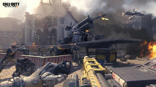 Høyteknologiske våpen og god kunstig intelligens gjør spillet veldig bra.