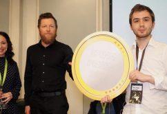 Luca Labs mottok i dag SPENN-prisen 2017