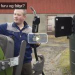 Tester biodrivstoff på traktorer (VIDEO)